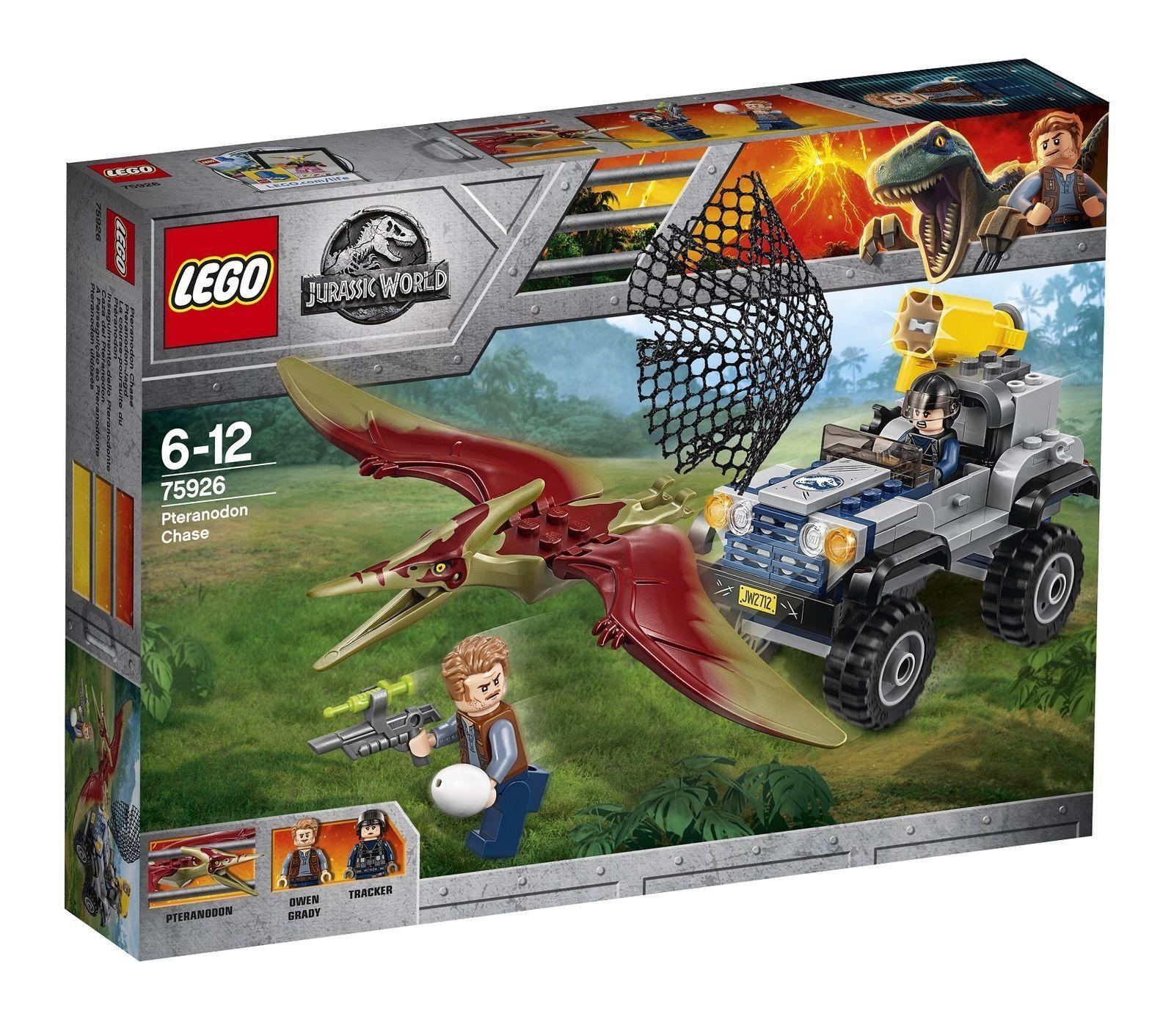 RETIRED RARE LEGO Jurassic World World World Pteranodon Chase 2018 (75926) d06bce