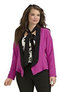ceb8f9aadf8 Kim Kardashian Kurves b8 fashion sexy pink black tuxedo blazer coat ...