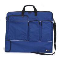 Darice 24-inch By 28-inch By 1-1/2-inch Nylon Portfolio, Navy Blue , New, Free S