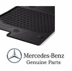 Genuine oem mercedes benz slk class r172 black all season for Mercedes benz genuine parts germany