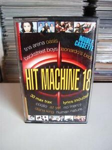 Hit-Machine-18-Various-Artists-Double-Cassette-Tape