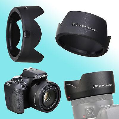 Camera Accessories ES-68 Lens Hood Shade for Canon Camera EOS EF 50mm f//1.8 STM Lens Lens /& Accessories