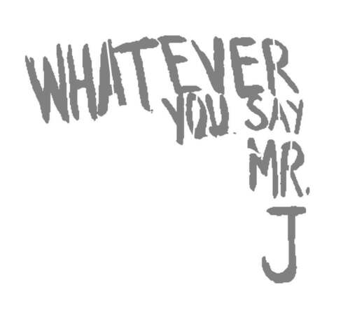 DIY Art Project Paint Reusable Stencil Silhouette Joker Harley Whatever You Say