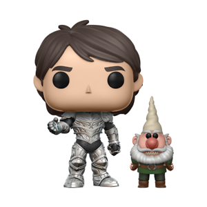 Funko POP   Jim Armored with amulet CHASE  466 - Trollhunters - DISPONIBILE