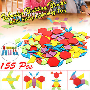 155pcs-Wooden-Blocks-Early-Bright-Education-Puzzle-Toy-Geometric-Shape-Gift