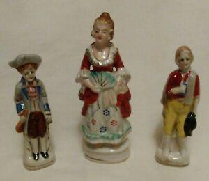 Vintage Lot Of 3 Occupied Japan Figurines Ebay