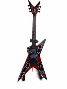 dimebag darrell confederate signature model miniature guitar axe heaven dd 003 661239447624 ebay. Black Bedroom Furniture Sets. Home Design Ideas