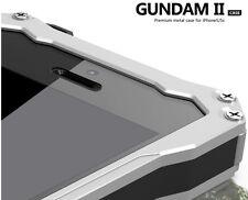 Waterproof Shockproof Gorilla Glass Metal Case Bumper for iPhone 6 plus 5S s 5