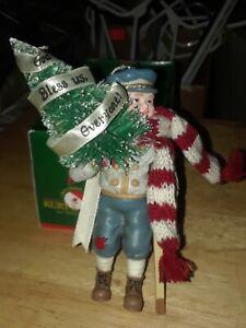 Vtg Kurt Adler Tiny Tim God Bless Us Everyone A Christmas Carol RARE!! | eBay