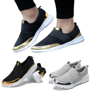 Women-039-s-Mesh-Casual-Loafers-Breathable-Flat-Shoes-Soft-Running-Shoes-Gym-Shoes