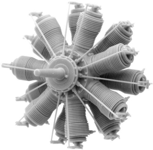 Small Stuff Models 1/72 Oberursel U.III (160 hp) Engine