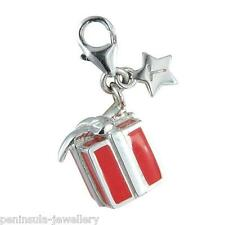 Tingle Gift Box Present Sterling Silver Charm with Gift Box and Bag SCH100