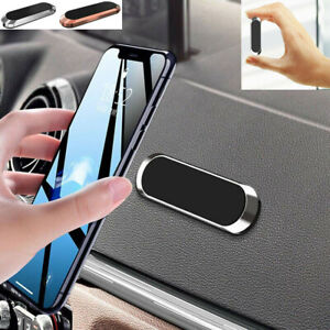 Mini Strip Shape Magnetic Car Mount Mobile Phone Holder Stand For iPhone Samsung