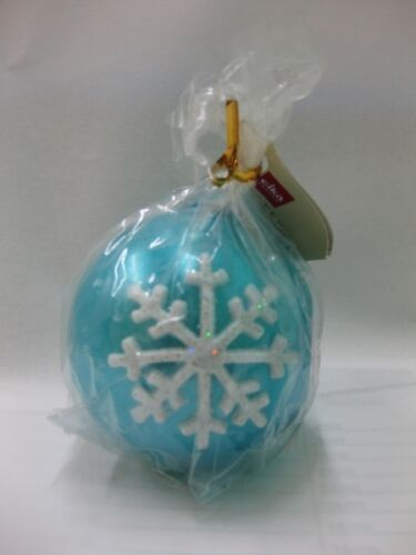 "Weihnachtskerze Kugelkerze /""Crystal/"" 60 mm Durchmesser"