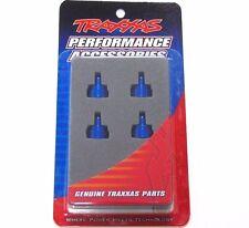 3767A Traxxas Tappi Ammortizzatori Alluminio Blu (4pcs) Ultra Shock UK