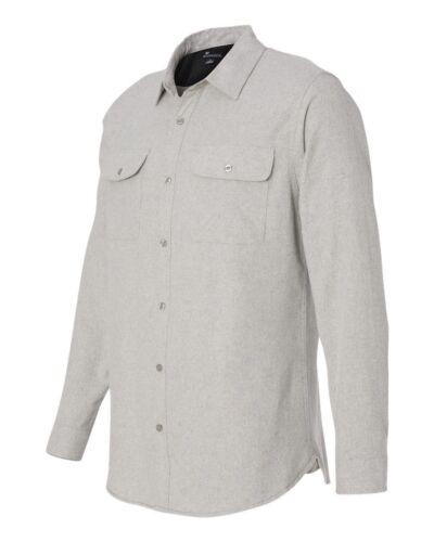 Burnside Long Sleeve Solid Flannel Shirt 8200 BU8200
