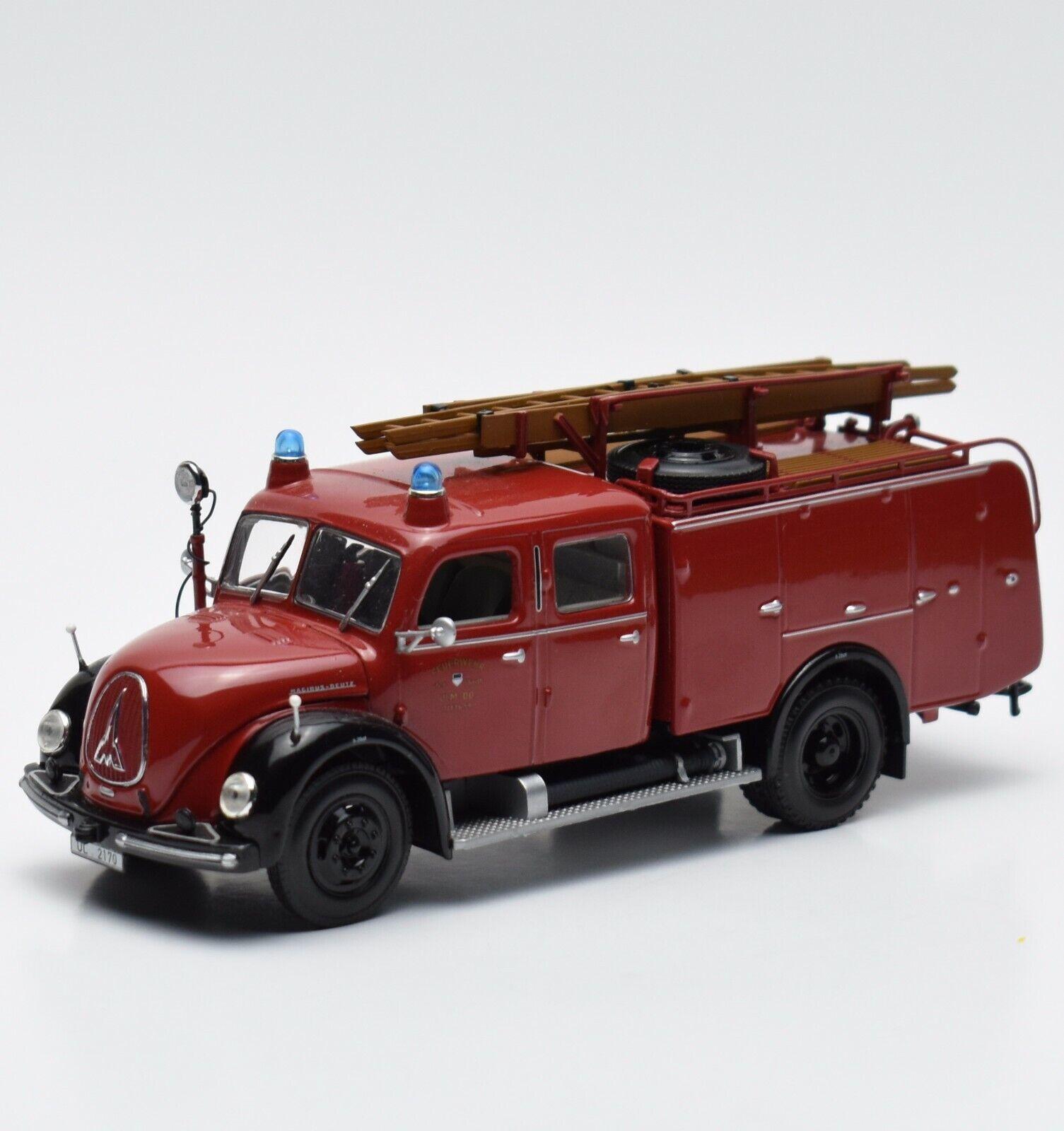 Minichamps Magirus Deutz TLF 16 der Feuerwehr Stadt Ulm, 1 43 , V005