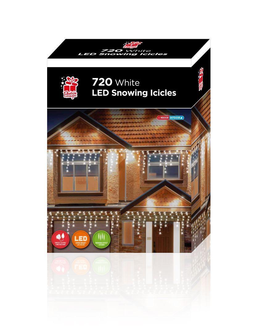 720 Luci LED NEVICANDO Ghiacciolo adatto per uso interno o o o esterno 46d736