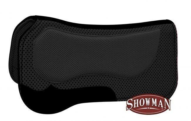 Showman Nero 76.2cmx78.7cm Western a Waffle Sella Pad W  Non Slip Poly
