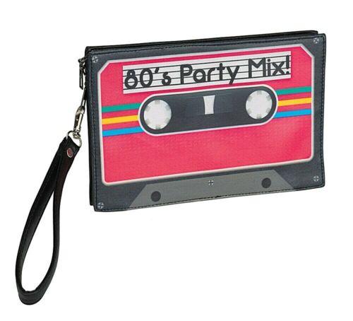 80 S Cassette Sac a main Adultes Enfants Halloween Rétro Fête Accessoires Costume