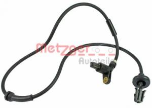 Sensor Raddrehzahl für Bremsanlage Hinterachse METZGER 0900085
