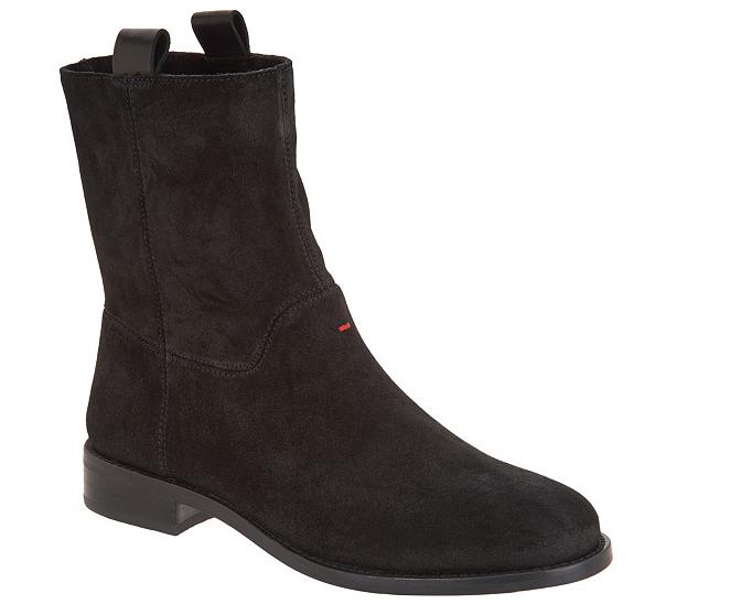 ED ED ED Ellen DeGeneres Leather Ankle Boots - Sebring Black Women's Size 7 Booties 6b94e6