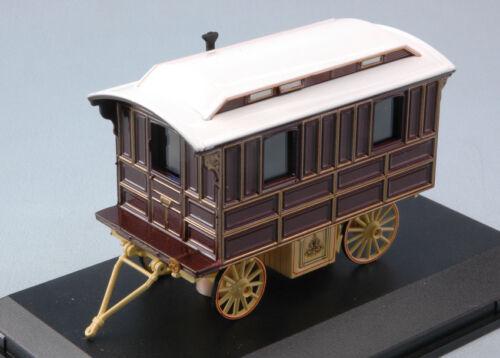 Showmans Living Wagon Caravan 1:76 Model OXFORD