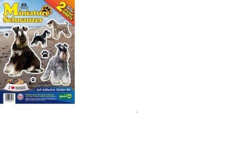 Miniature Schnauzer The Kennel Club Stickers