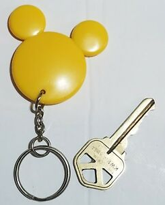 Image is loading Disney-Mickey-Mouse-YELLOW-Mickey-Head-Ears-Mickey-