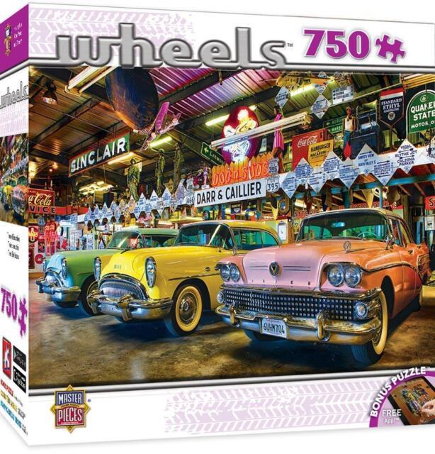 750 Pieces Triple Threat Puzzle MasterPieces