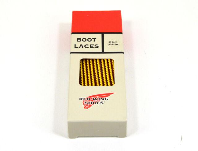 Red Wing, Boot Laces, tan/gold, 48 Inch/122 cm, 97150 Taslan, Schnürsenkel, Neu