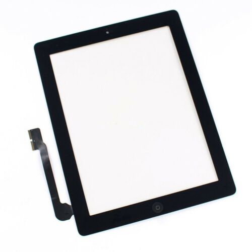 Replacement LCD Touch Screen Digitizer Assembly+Home BTN for iPad 3/4