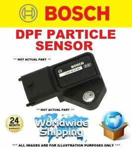 BOSCH DPF PARTICLE SENSOR for VOLVO V60 II D3 AWD 2018->on