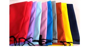Sacchetto Coulisse Occhio Occhiali Da Sole Impermeabile Borsa Custodia Arancione Blu Nero gratis Pulire