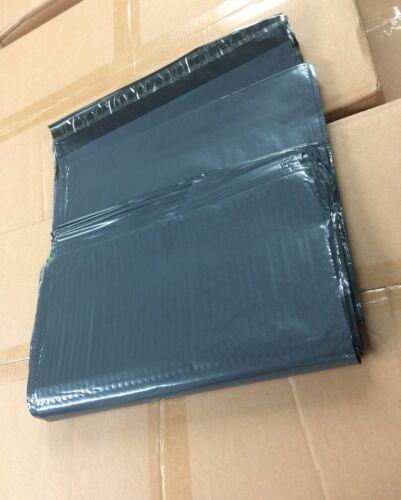 """20 strong grey mailing /& emballage sacs en plastique grande taille envoi gratuit 13/""""x19/"""""""