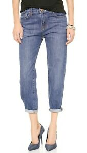 J-BRAND-1265-Ace-Boyfriend-Slouchy-Denim-Jeans-in-Muse-Blue-Wash-Size-24