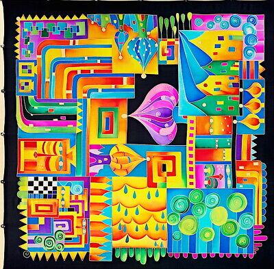 Suzy ideas-Gutta-fular 90x90 cm Ponge 8 nuevo