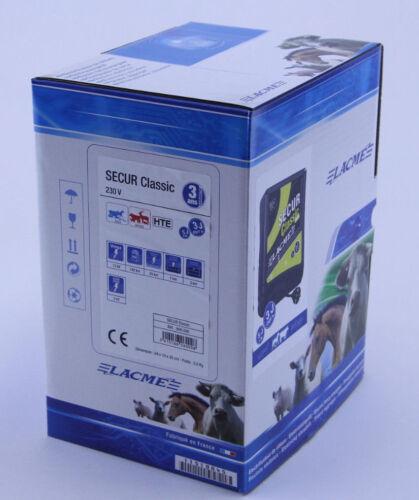 Weidezaungerät 230 Volt Lacme Secur Classic HTE  Netzgerät Elektrozaungerät