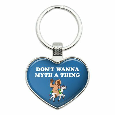 Details about  /Don/'t Wanna Myth Thing Unicorn Bigfoot Stainless Steel Flask Key Chain