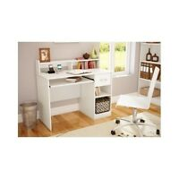 Small Writing Desks Computer Desk For Small Spaces White Student Hutch Girls