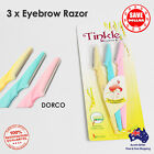 3p x Facial Eyebrow Razor Trimmer Shaper Shaver Blade Knife Lip Hair Remover
