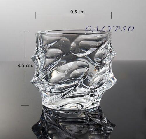 """Whisky Set /""""Neu/&OVP/"""" Karaffe mit 6 Gläser 24/% Bleikristall Serie Calypso"""