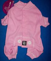 Size Small Pink thermal Underwear Dog Pajamas Sleepwear Dog Clothes