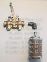 Non-locking Air Control Valve & Muffler Kit - Gilbarco Lift Manitowoc Lift