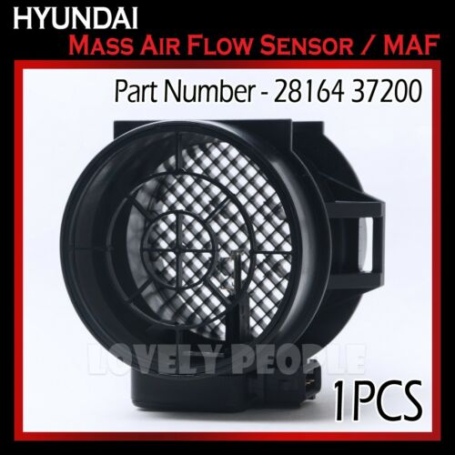 MAF New OEM Mass Air Flow Sensor 2816437200 for Hyundai Tiburon 2.7L 2003-2008
