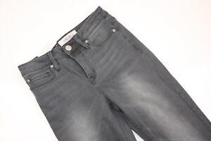 Jeanswest-NEW-Womens-Grey-7-8-Length-Stretch-Skinny-Jeans-Size-6