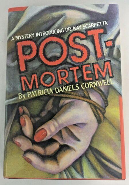 POSTMORTEM PATRICIA CORNWELL 1ST EDITION 1ST PRINTING 1990 HC ORIGINAL DJ