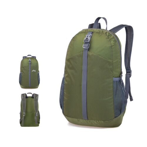 New 20L Lightweight Portable Folding Travel Backpack Bag Outdoor Cycling Hiking