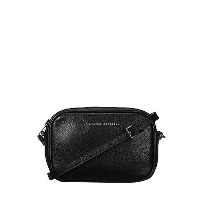 NEW Status Anxiety SA7251 Plunder Bag Black