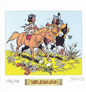 Derib-YAKARI-Bel-Ex-libris-150-Ex-N-S